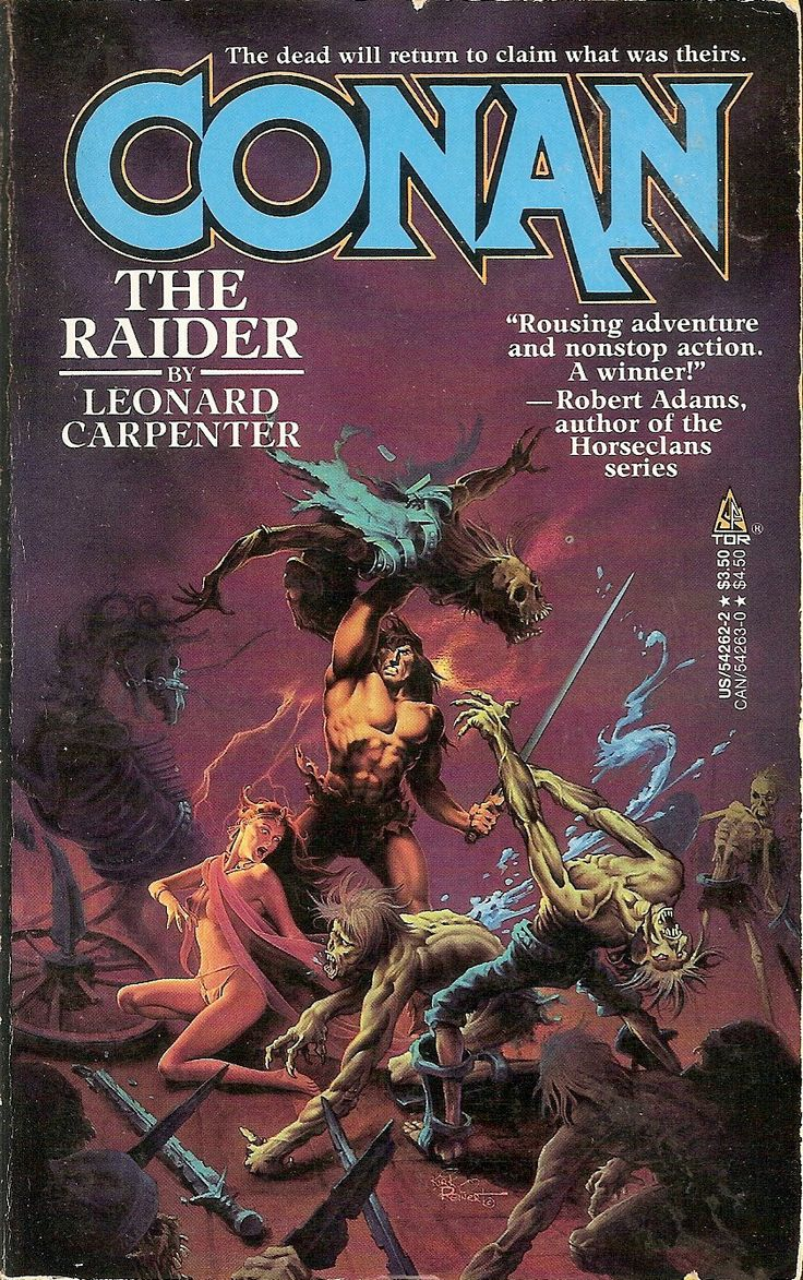 Conan the Barbarian - Book Series In Order