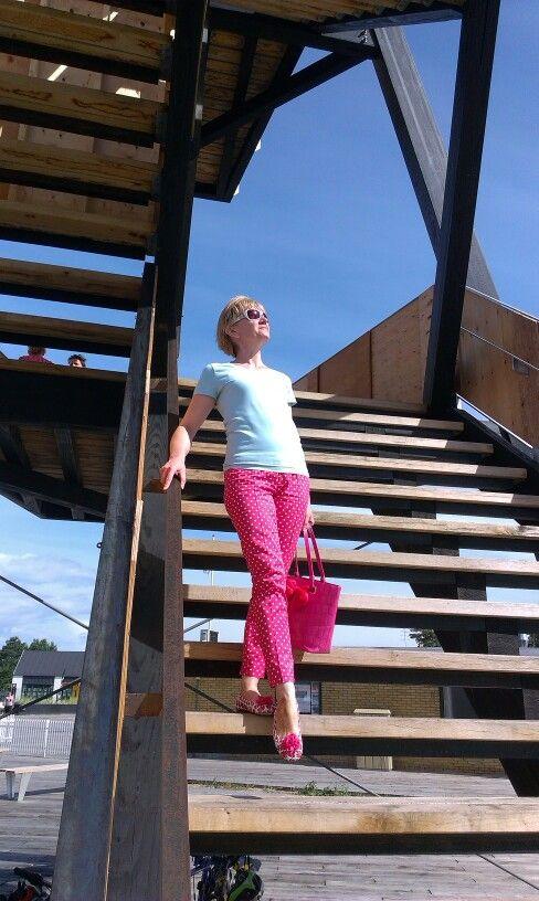 Summer outfits, polka dots, Fashion and sewing  tailoring