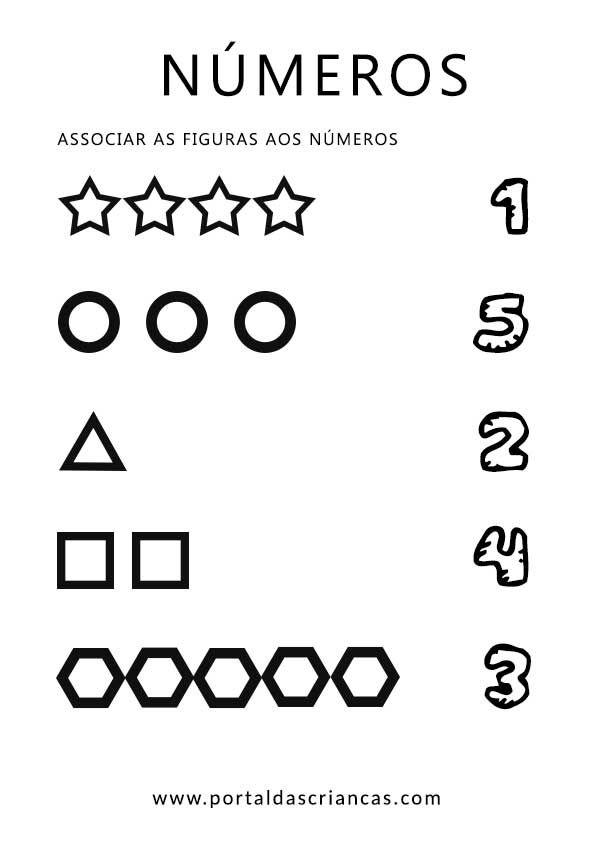 Aprender os números até 5