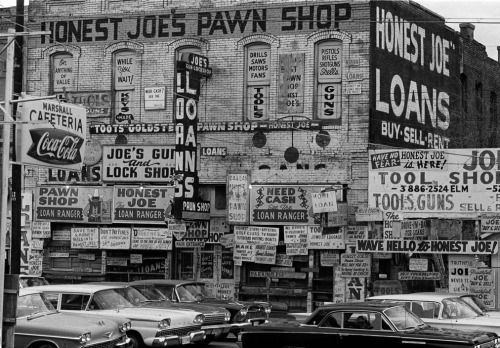 ADs/text everywhere  Dallas, Texas 1963 Thomas Hoepker  Information overload is not new after all.