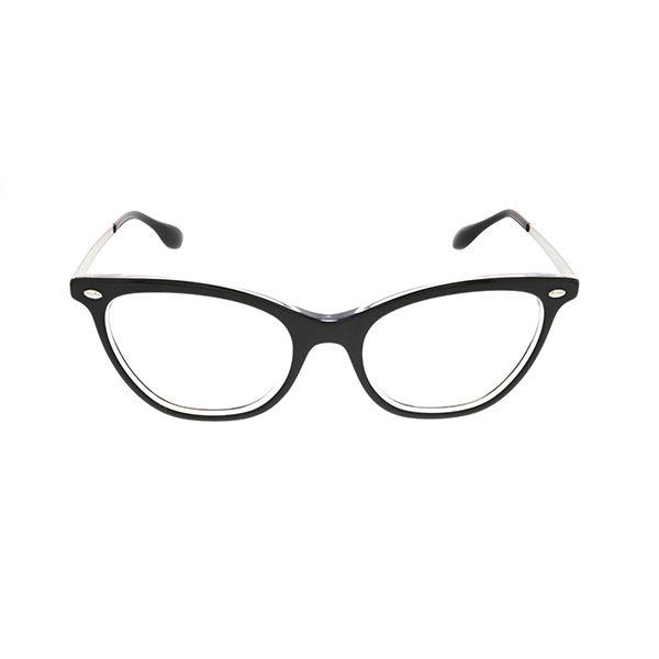 06a72d3b0f Ray-Ban RX5360 Top Black on Transparent 2034 - Women s Eyeglasses