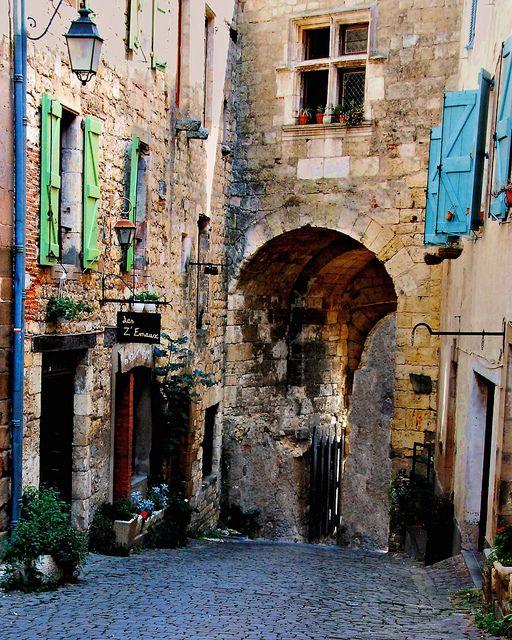 Encore! Life,   ♕   Gateway of Cordes-sur-Ciel   by © George...