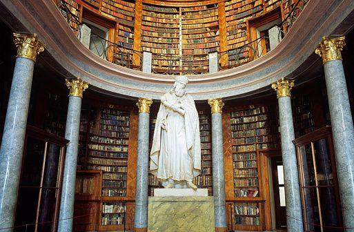 Library Pannonhalma Abbey Hungary