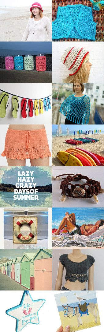 SUMMERTIME FUN!!!! by Mel Rogerson on Etsy--Pinned with TreasuryPin.com