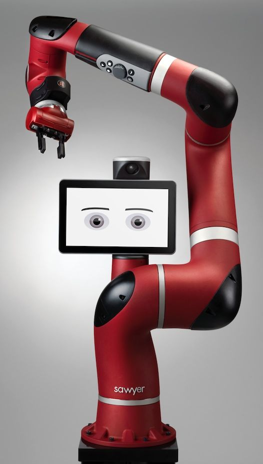 Rethink Robotics, Home Of Baxter, Brings A New Robot Arm To The Party | Remember Baxter, the robotic arm with a smiling face that you can teach to do simple, repeatable tasks? Well he has a little brother! [Future of Robots: http://futuristicnews.com/category/future-robots/]