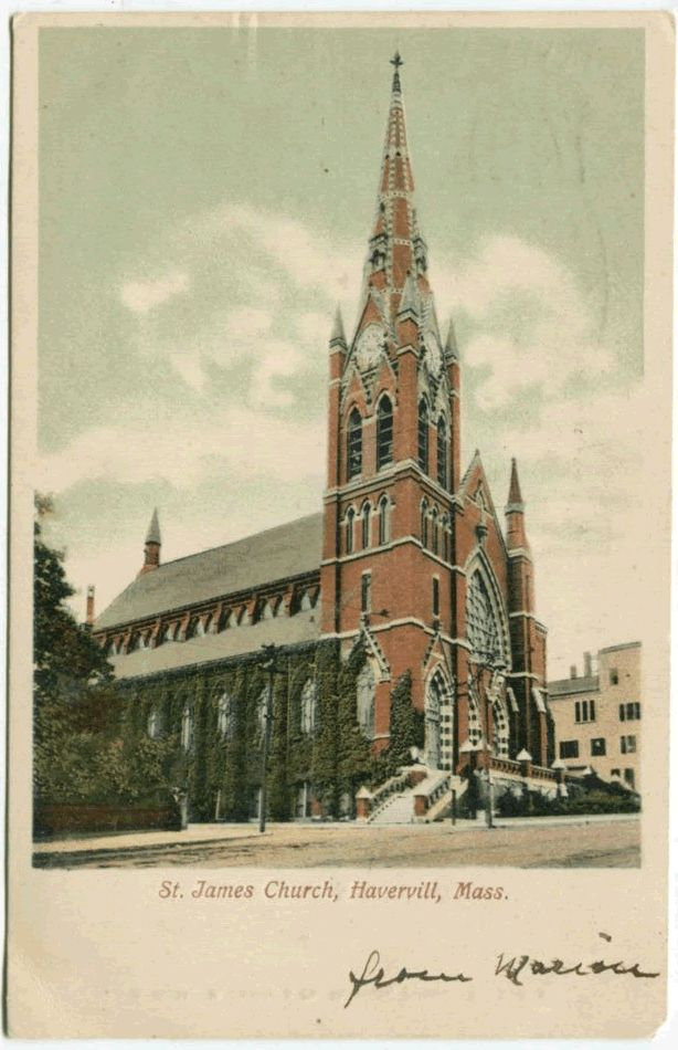 Saint James Church, Haverhill (Then)