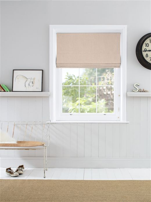 Customise your Roman blinds in Pinky below. All of our made to measure Roman blinds are available in a range of linings, including blackout, thermal and interlining along with a choice of mechanisms to suit your needs. Call us on 01394 775 670 if you'd like any advice from our resident blind experts.