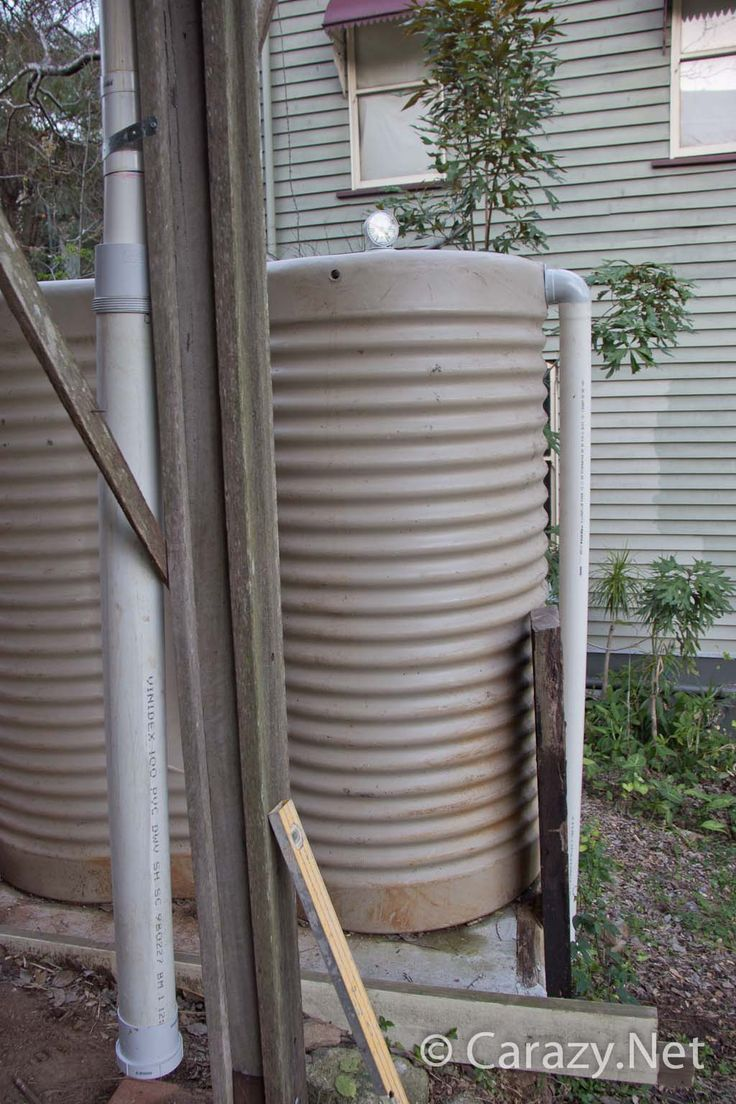 With the rainwater tank set up it was time to plumb it all in to collect the water from my gutters which are still clear thanks to my gutter mesh I installed over a year ago. The mesh has 5mm holes…