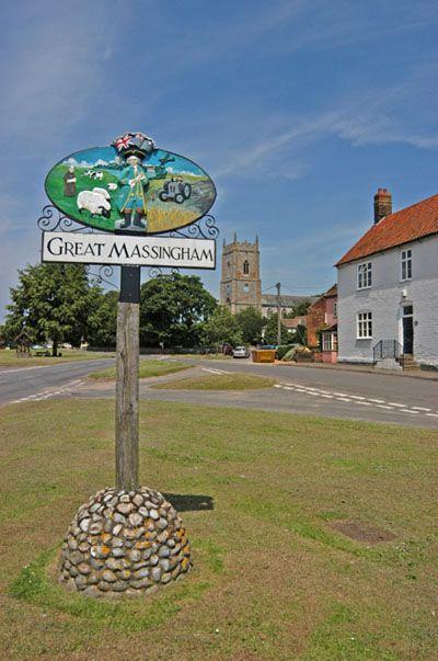 Great Massingham in Norfolk, England