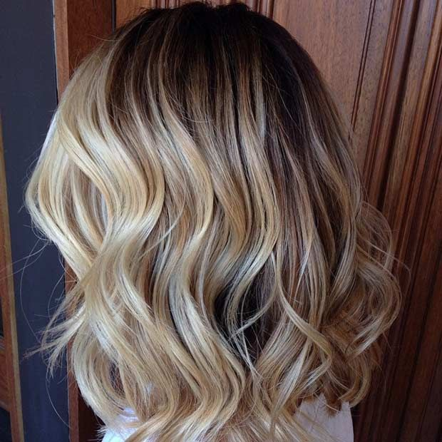 31 stunning blonde balayage looks blonde balayage. Black Bedroom Furniture Sets. Home Design Ideas