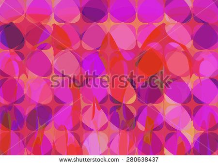 Trendy Fashion Pattern Background in Pink Tones