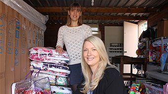 """ABC. March 25, 2014. """"New charity passes on pre-loved baby goods to families in need"""""""