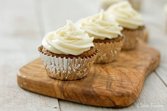 pumpkin cupcakes cream cheese frosting | To Cook, To Bake, To Eat ...