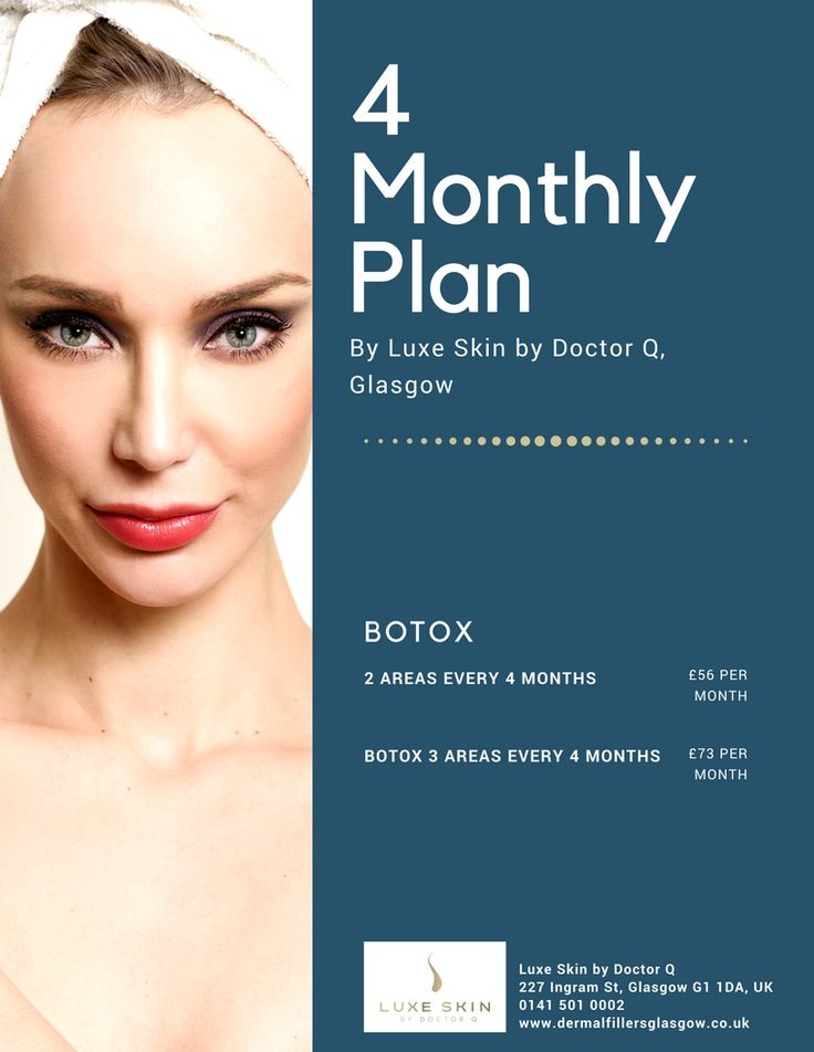 Luxe Skin Face Plan - 4 Months #special #offer #luxeskin #glasgow #skin #Clinic #botox