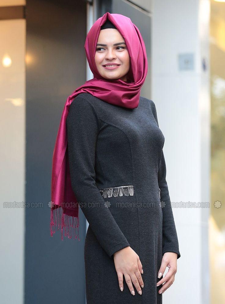 Defne Elbise&Hırka Takım - Siyah - Lâl By Hilal