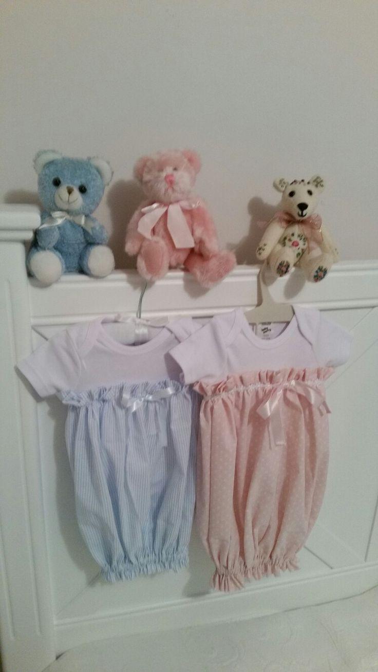 Little Rascals Newborn baby onesie dresses