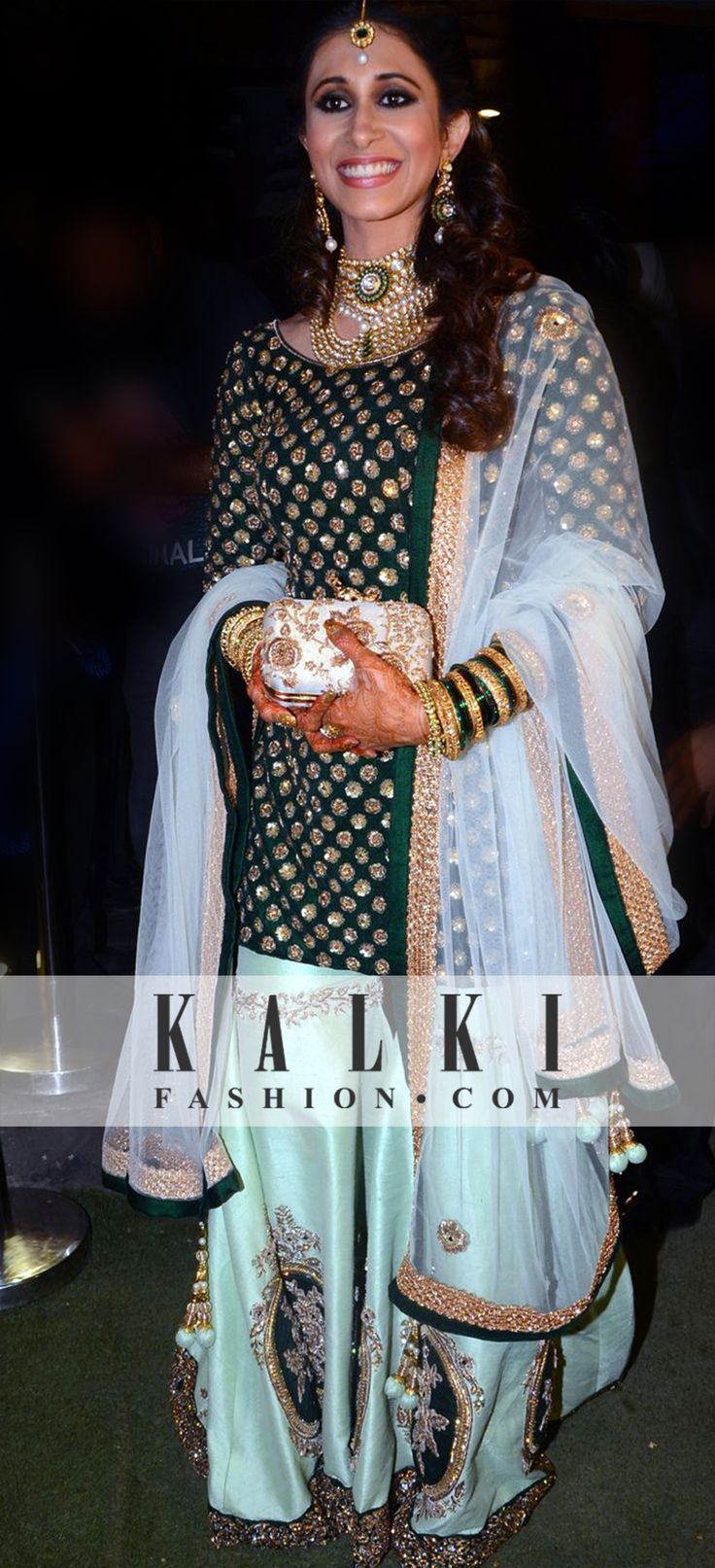 Kishwer glowing in her KALKI outfit