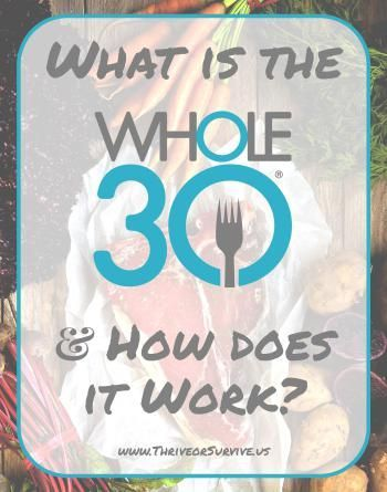 The Whole30: What is it & How does it Work? @ www.thriveorsurvive.us