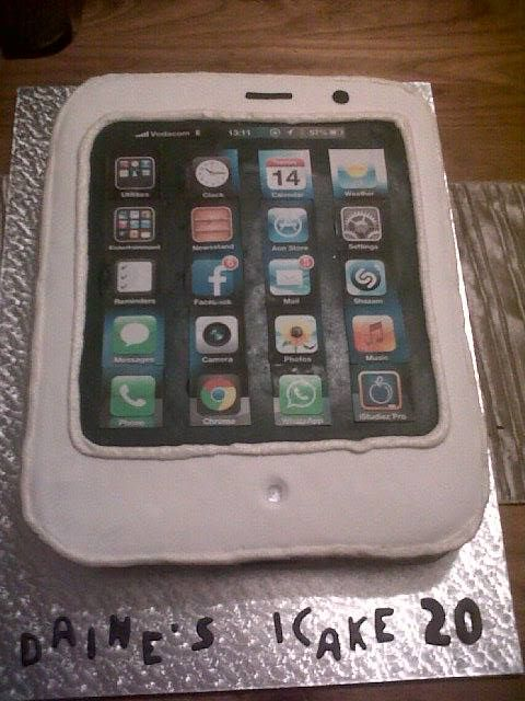 Daine's Iphone cake