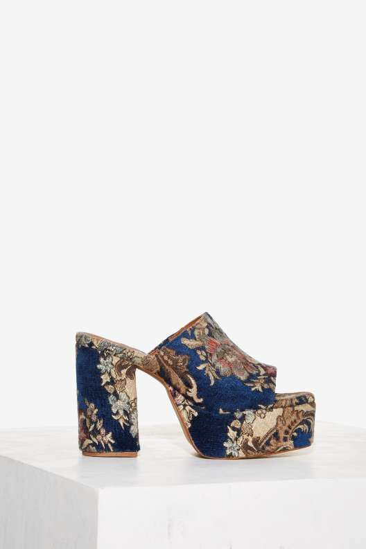 Jeffrey Campbell Pilar Tapestry Mule - The Eclectics