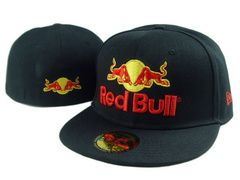 New Era Red Bull Fitted Hats 033