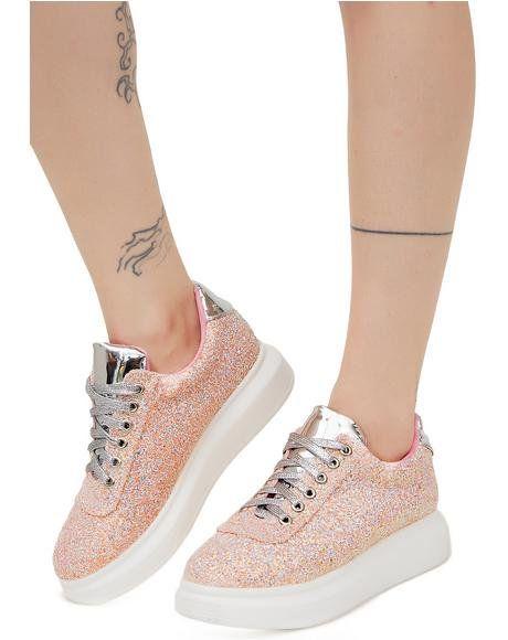 e9cd33aadc317 Acid Rain Qozmo Aiire Sneakers. Glitter ShoesLace ...