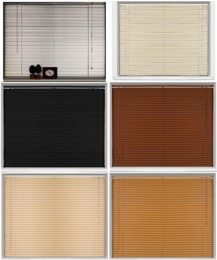 Pvc Blinds Window Venetian Home Office Easy Fit Wood Effect In Natural Colours New Wood Wooden