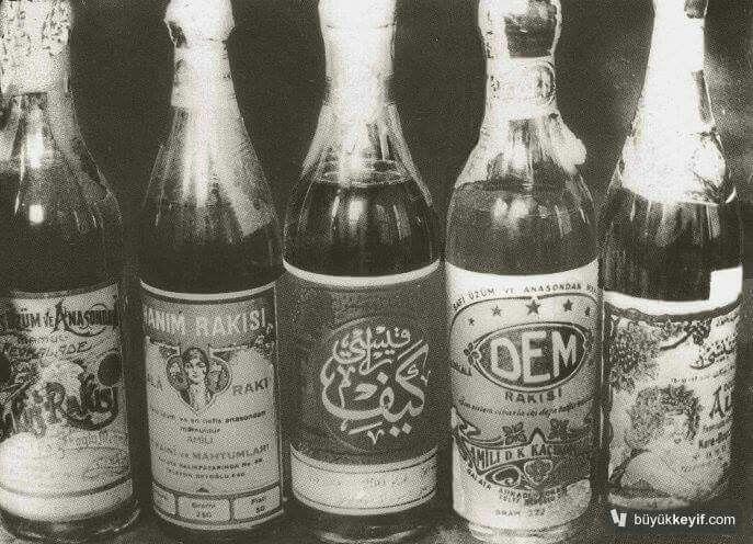 Osmanlı da ickilerin markaları Ilk içki fabrikası 2.Abdulhamid Tarafından kurulmuştur.