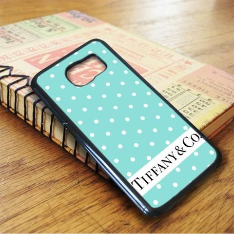 Blue Mint Polkadot Tiffany Co Samsung Galaxy S6 Case