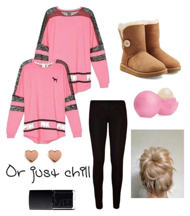 Cute Tween/Teen Outfit!! by sparklecat102 on Polyvore featuring Victorias Secret, UGG Australia, NARS Cosmetics, Eos and Ted Baker