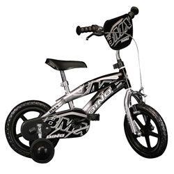 Vélo enfant BMX DINO Noir - 12 pouces