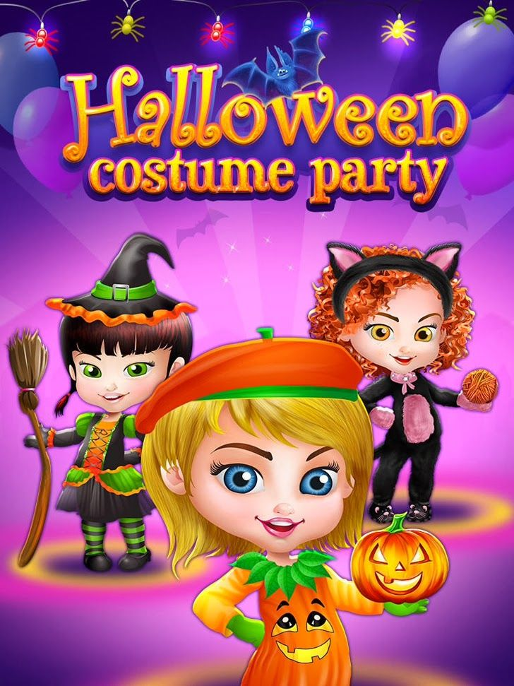 Halloween Costume Party Spooky Salon, Spa Makeover