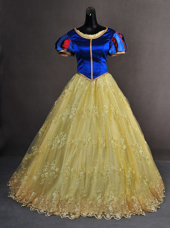 Our shop offers a made to order deluxe Snow White gown that will surely get the attention of the handsome Prince ^_^  This breathtaking gown is