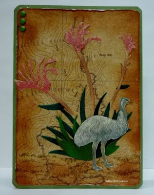 BaRb'n'ShEll Creations -  Aussie Cards - BaRb