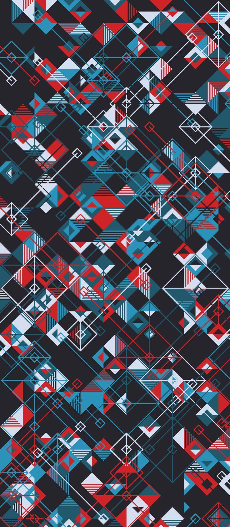 Russfussuk 'Decode' M11A #pattern #patterndesign #surfacepattern #patternprint #circuit #electronic #generative #geometria #padrões #russfussuk