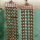 Ball Chain Chandelier Earrings, video and DIY