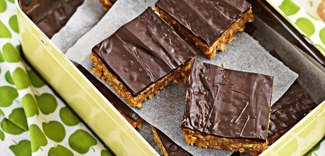 Caramel chocolate biscuit square - Cakes & Baking - Food & recipes - Recipes - New Zealand Woman's Weekly
