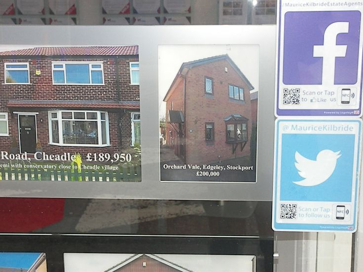 #Logotag being used in #EstateAgents across the UK. Thanks to Maurice Kilbride Estate Agency.