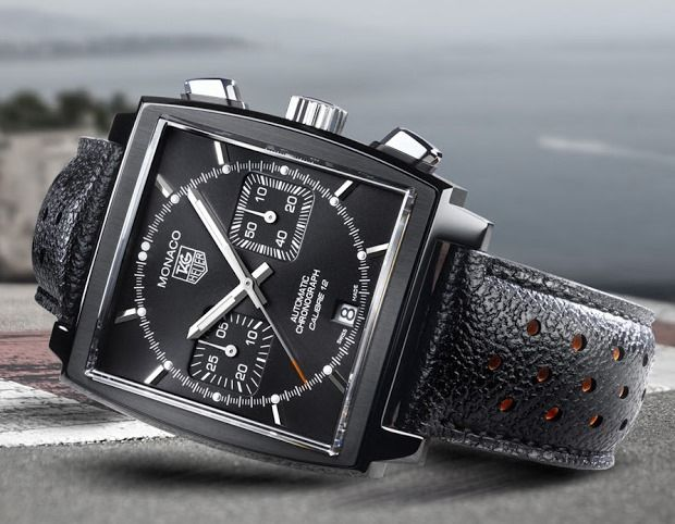TAG Heuer Monaco Cal 12 ACM Black Edition  for Automobile Club de Monaco  #men #watch
