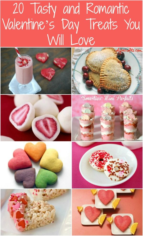 20 Tasty And Romantic Valentines Day Treats You Will Love