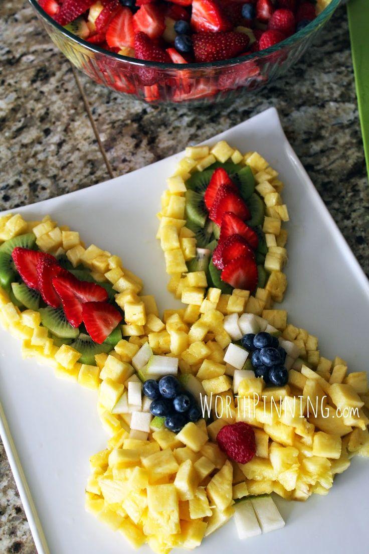 Worth Pinning: Easter Brunch - Fresh Fruit & Crepes