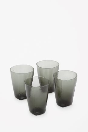 Irregular tumbler glasses