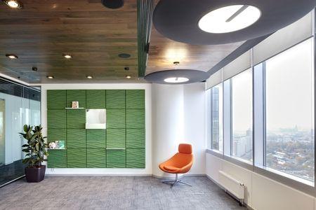 Современный, яркий и вызывающий офис-«кубик-рубик» Mail.ru