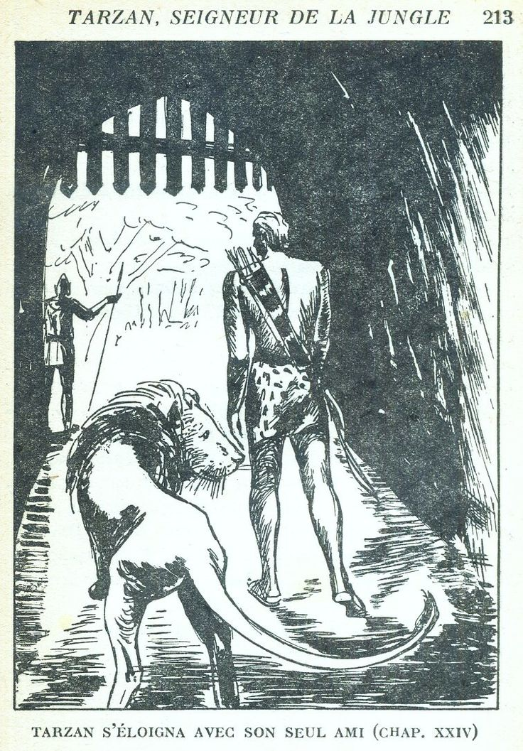 Illustrateur : anonyme // Illus intérieures : Jacques Souriau. Tarzan Seigneur De La Jungle, Edgar Rice Burroughs, trad. Pierre Cobor, Hachette Collection Tarzan 1948. Broché illustré avec illustrations intérieures