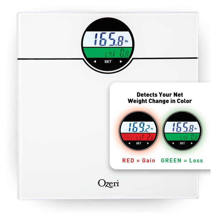 WeightMaster 400 lbs. Digital Bath Scale with BMI and Weight Change Detection, White