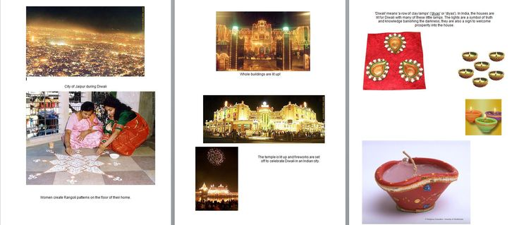 This resource tells the story of Rama and Sita and includes a worksheet of Diwali-themed pictures for discussion.