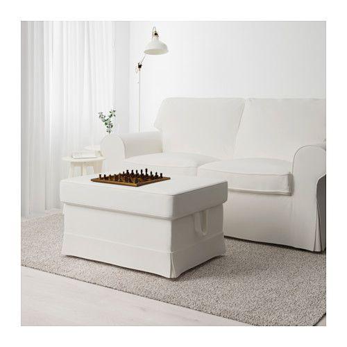 ektorp hocker lofallet beige zeitschriften. Black Bedroom Furniture Sets. Home Design Ideas