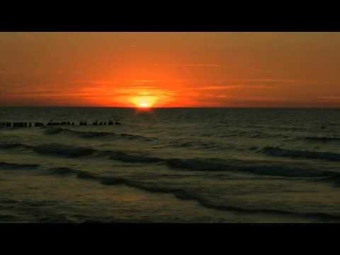 Zachód słońca nad Morzem Bałtyckim - YouTube