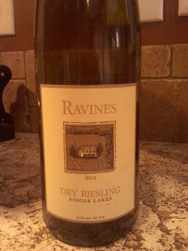 Ravines dry riesling - I found a white.. its really good and its a fingerlakes!