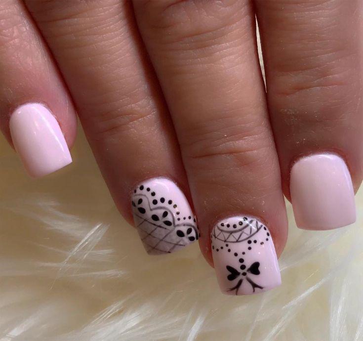 70+ creative nail designs for short nails